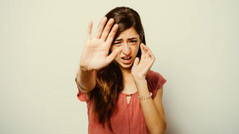 Stop teenage girl
