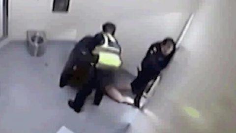 Victim of police brutality
