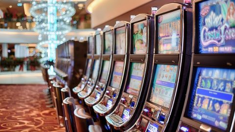 Poker gambling machines