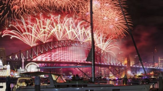 New Years at the Sydney Harbour Bridge
