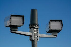 Australian speed camera flash unit