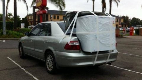Unsecured car loads