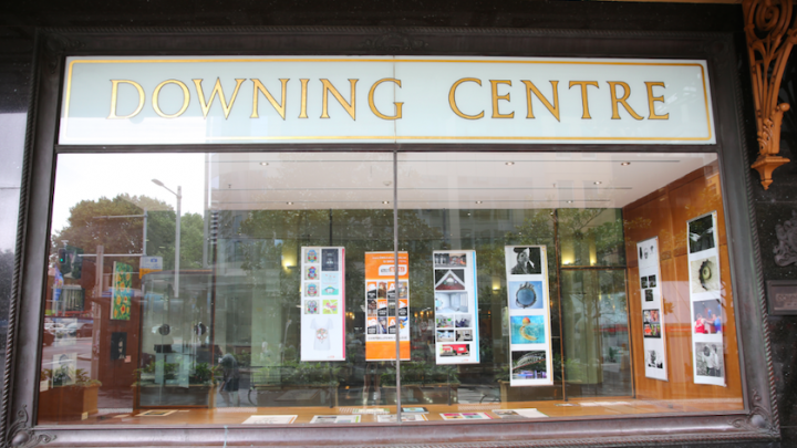 Downing Centre display window
