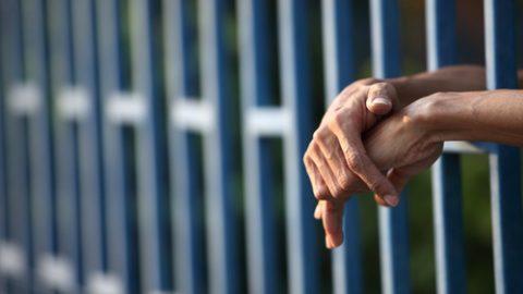 Prisoner hands