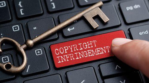Copyright keyboard
