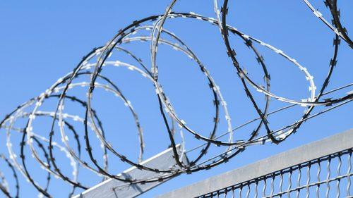 Prison wire fence
