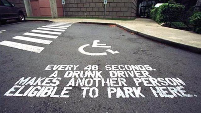 Disabled parking spot quote