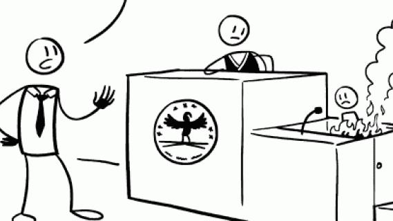 Liar, liar pants on fire in courtroom