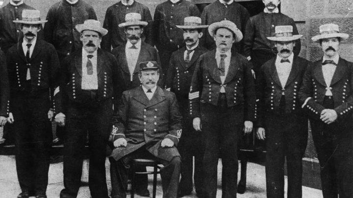 Police officers group photograph