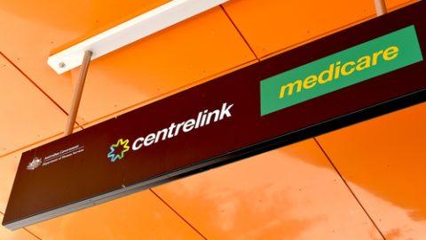 Centrelink Medicare sign