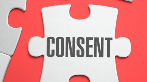 Consent labelled on a puzzle piece