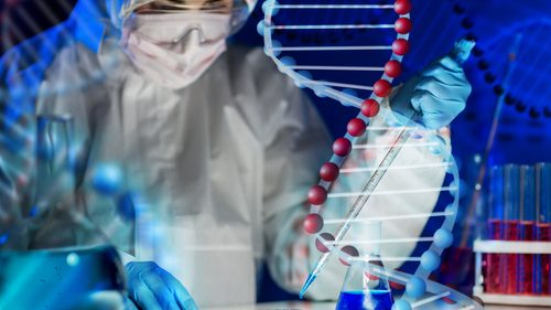DNA test sample