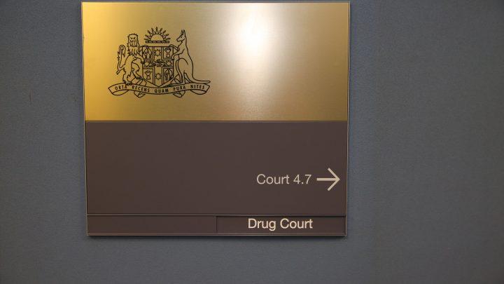 Drug Court sign