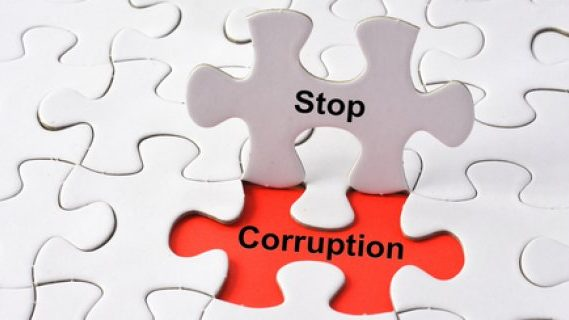 Stop corruption puzzle