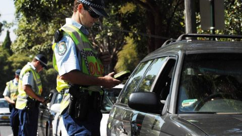 Drug driving testing by police
