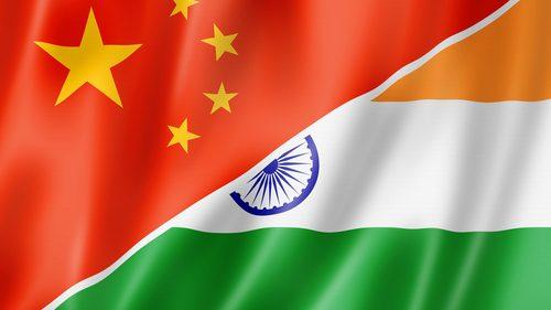 China India flag