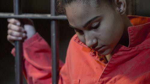 Indigenous girl in prison