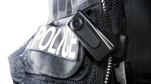 Police recording camera