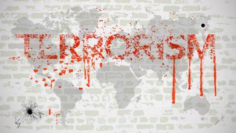 Terrorism graffiti