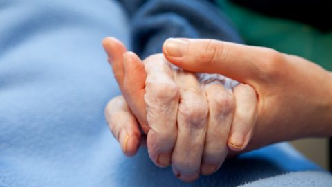 Assist elderly with death