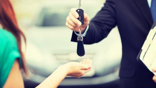 Driver getting keys