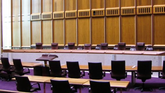 High Court room
