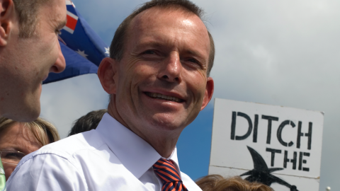 Tony Abbott in Australia