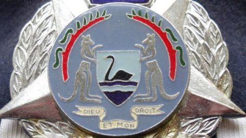 WA Police badge