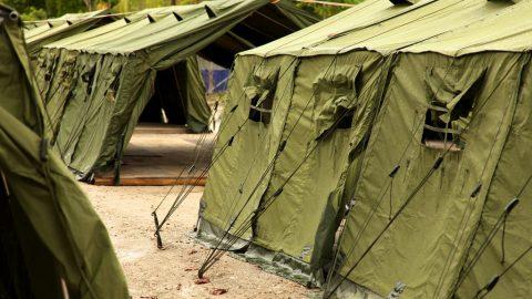 Manus tents