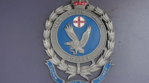 NSW police eagle symbol