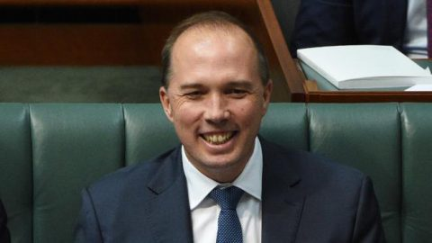 Peter Dutton in Parliament