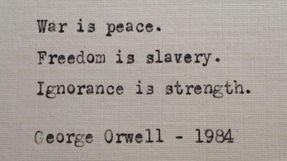 War is peace poem