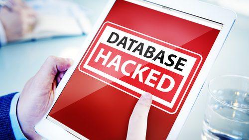 Database hacked