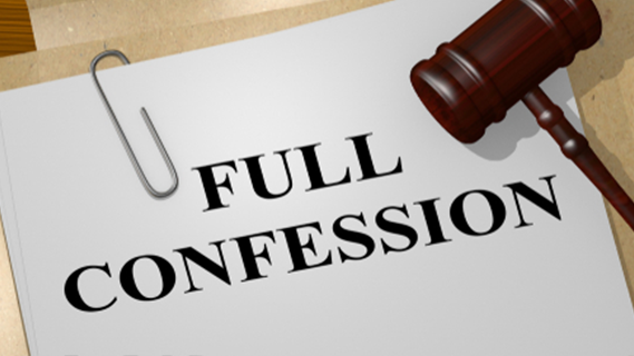 Full confession on file