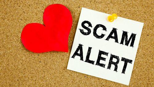 Romance scam alert