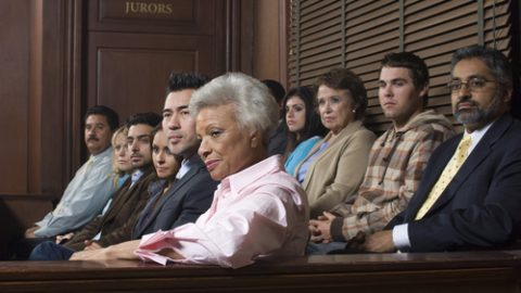 Jury duty selection