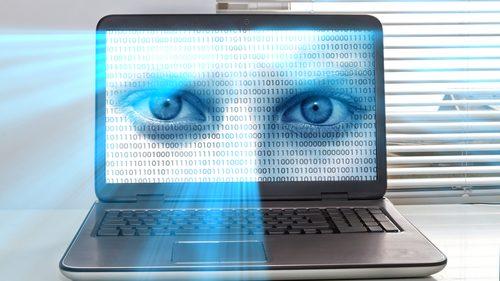 Surveillance laptop