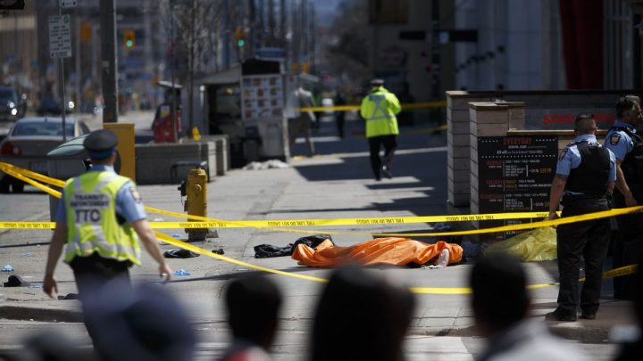 Toronto pedestrian attack