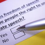 Tough New Laws Against Hate Speech