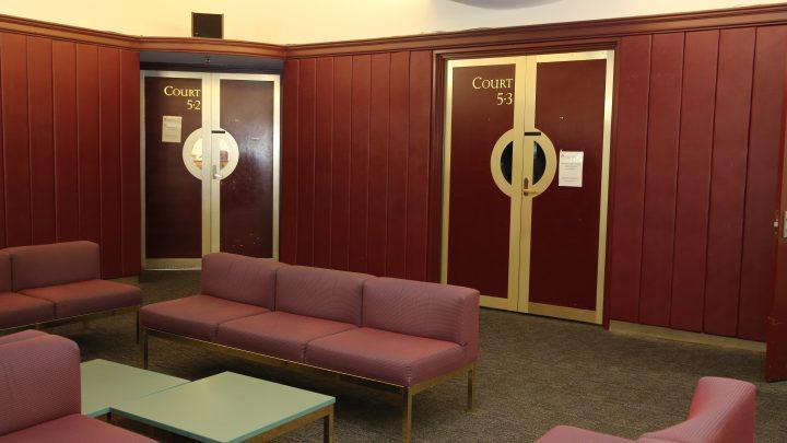 Court room doors