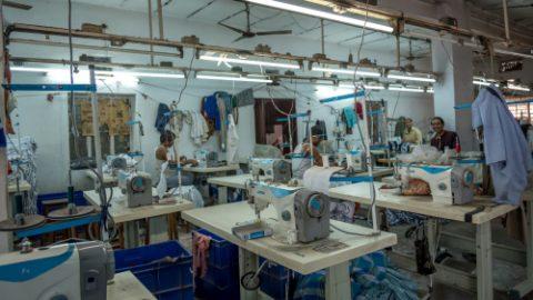 Modern factory