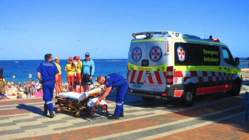 Ambulance officers