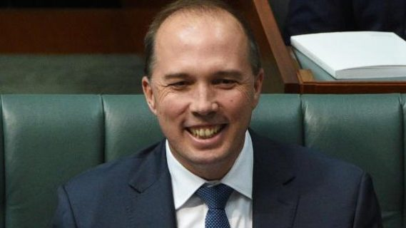 Peter Dutton in Australia