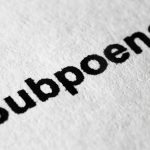 Do I have to attend the court if subpoenaed?