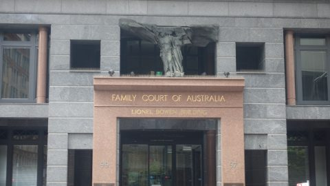 Family Court entrance
