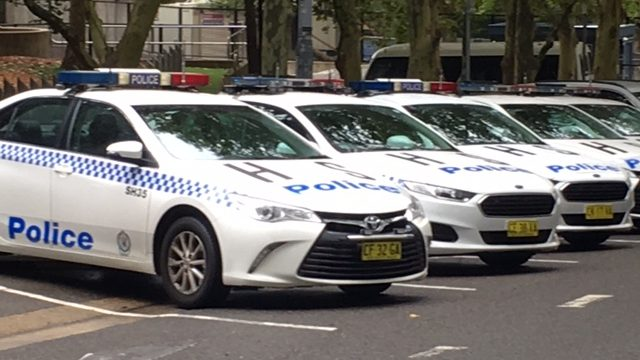NSW Police cars