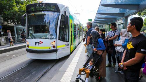 Tram in Victoria