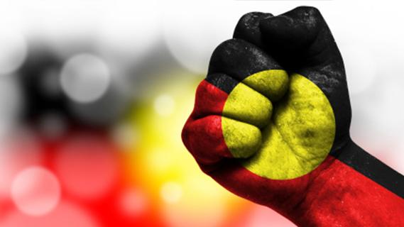 Aboriginal fist