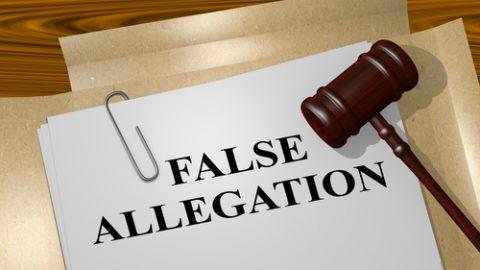 False sexual assault allegations