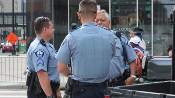 Minneapolis police officers
